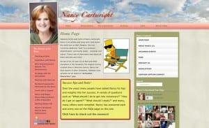 Nancy Cartwright website