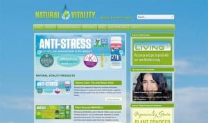 Natural Vitality Corporate Site